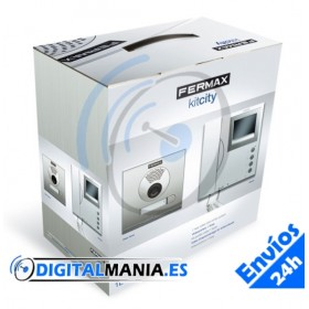 VIDEOPORTERO BLANCO Y NEGRO / Y COLOR: KIT CITY VDS B/N 1/L Max 04960